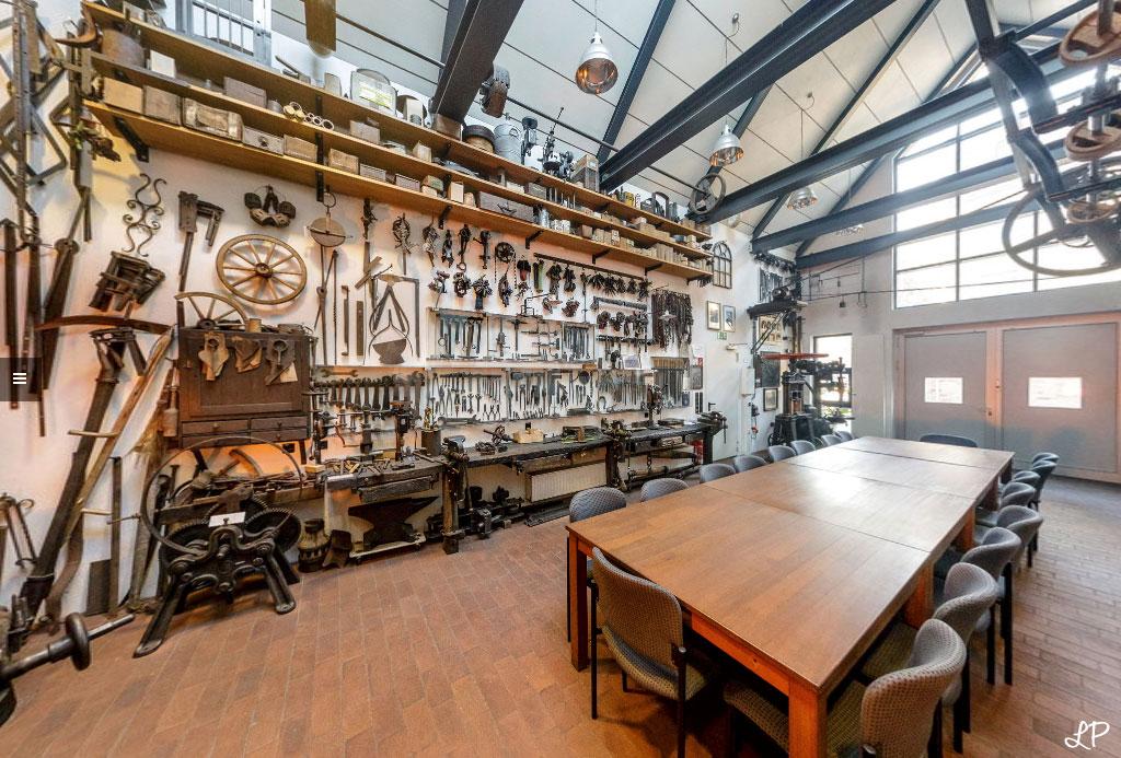 Trauung in der alten Museumsschmiede Galen in Beckum - Hochzeitsfotograf Leifhelm Foto - Panoramaansicht von www.leifhelm-panorama.de